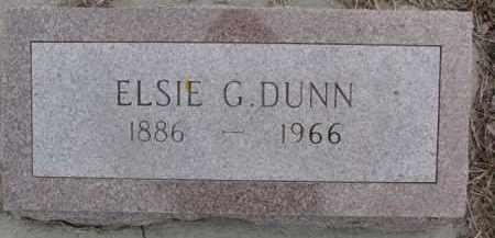 DUNN, ELSIE G. - Dixon County, Nebraska | ELSIE G. DUNN - Nebraska Gravestone Photos