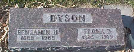 DYSON, BENJAMIN H. - Dixon County, Nebraska | BENJAMIN H. DYSON - Nebraska Gravestone Photos