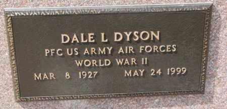 DYSON, DALE L. (WW II MARKER) - Dixon County, Nebraska | DALE L. (WW II MARKER) DYSON - Nebraska Gravestone Photos