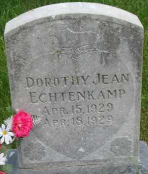 ECHTENKAMP, DOROTHY JEAN - Dixon County, Nebraska | DOROTHY JEAN ECHTENKAMP - Nebraska Gravestone Photos