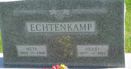 ECHTENKAMP, HENRY - Dixon County, Nebraska | HENRY ECHTENKAMP - Nebraska Gravestone Photos