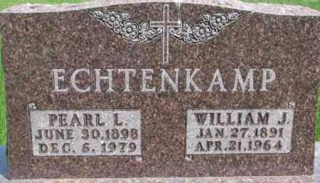 ECHTENKAMP, WILLIAM J. - Dixon County, Nebraska | WILLIAM J. ECHTENKAMP - Nebraska Gravestone Photos