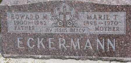 ECKERMANN, MARIE T. - Dixon County, Nebraska | MARIE T. ECKERMANN - Nebraska Gravestone Photos