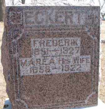 ECKERT, MAREA - Dixon County, Nebraska | MAREA ECKERT - Nebraska Gravestone Photos