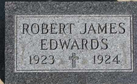 EDWARDS, ROBERT JAMES - Dixon County, Nebraska | ROBERT JAMES EDWARDS - Nebraska Gravestone Photos