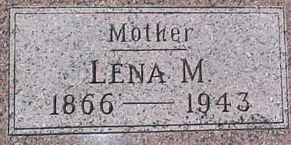 EKBERG, LENA MARIE - Dixon County, Nebraska | LENA MARIE EKBERG - Nebraska Gravestone Photos