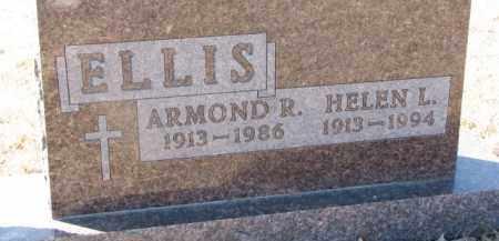 ELLIS, ARMOND R. - Dixon County, Nebraska | ARMOND R. ELLIS - Nebraska Gravestone Photos