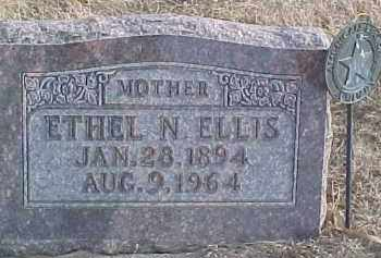 ELLIS, ETHEL N. - Dixon County, Nebraska | ETHEL N. ELLIS - Nebraska Gravestone Photos
