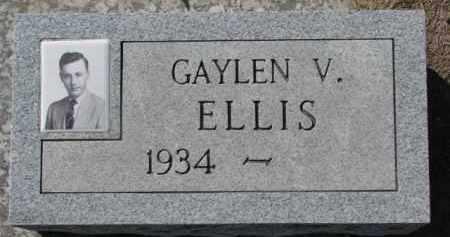 ELLIS, GAYLEN V. - Dixon County, Nebraska   GAYLEN V. ELLIS - Nebraska Gravestone Photos