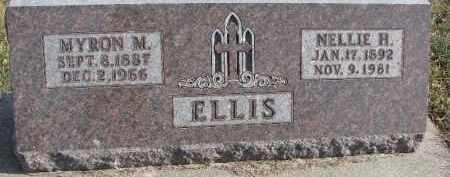 ELLIS, NELLIE H. - Dixon County, Nebraska | NELLIE H. ELLIS - Nebraska Gravestone Photos