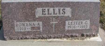 ELLIS, LESTER G. - Dixon County, Nebraska | LESTER G. ELLIS - Nebraska Gravestone Photos