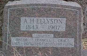 ELLYSON, MAUDE - Dixon County, Nebraska   MAUDE ELLYSON - Nebraska Gravestone Photos
