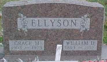 ELLYSON, WILLIAM DEXTER - Dixon County, Nebraska | WILLIAM DEXTER ELLYSON - Nebraska Gravestone Photos