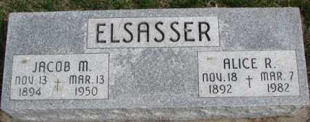 ELSASSER, JACOB M. - Dixon County, Nebraska | JACOB M. ELSASSER - Nebraska Gravestone Photos