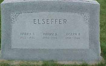 ELSEFFER, HARRY S. - Dixon County, Nebraska | HARRY S. ELSEFFER - Nebraska Gravestone Photos
