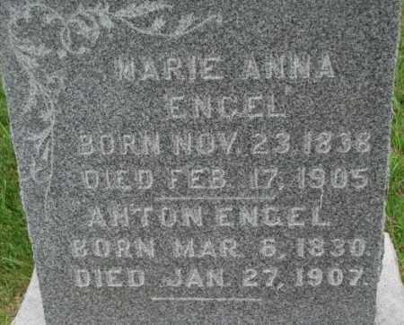 ENGEL, ANTON - Dixon County, Nebraska | ANTON ENGEL - Nebraska Gravestone Photos