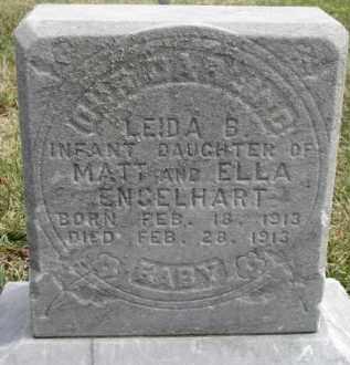 ENGELHART, LEIDA B. - Dixon County, Nebraska   LEIDA B. ENGELHART - Nebraska Gravestone Photos