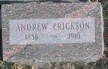 ERICKSON, ANDREW - Dixon County, Nebraska | ANDREW ERICKSON - Nebraska Gravestone Photos