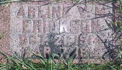 ERICKSON, ARLINE V.M. - Dixon County, Nebraska | ARLINE V.M. ERICKSON - Nebraska Gravestone Photos