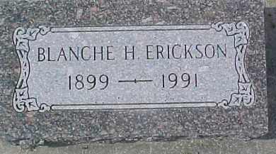 ERICKSON, BLANCHE H. - Dixon County, Nebraska | BLANCHE H. ERICKSON - Nebraska Gravestone Photos