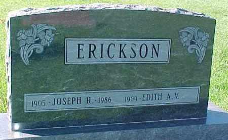 ERICKSON, JOSEPH R. - Dixon County, Nebraska | JOSEPH R. ERICKSON - Nebraska Gravestone Photos