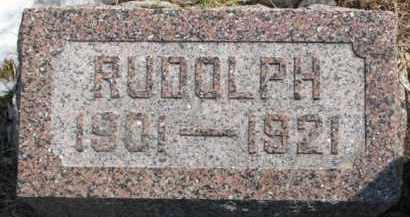ERICSON, RUDOLPH - Dixon County, Nebraska | RUDOLPH ERICSON - Nebraska Gravestone Photos