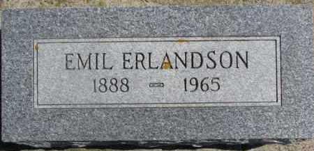 ERLANDSON, EMIL - Dixon County, Nebraska | EMIL ERLANDSON - Nebraska Gravestone Photos