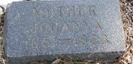 ERLANDSON, JOHANNA - Dixon County, Nebraska | JOHANNA ERLANDSON - Nebraska Gravestone Photos