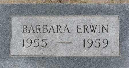 ERWIN, BARBARA - Dixon County, Nebraska | BARBARA ERWIN - Nebraska Gravestone Photos
