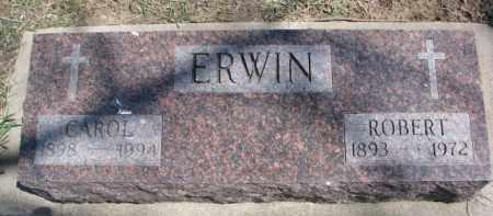 ERWIN, ROBERT - Dixon County, Nebraska | ROBERT ERWIN - Nebraska Gravestone Photos