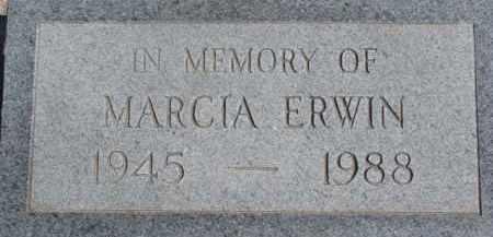 ERWIN, MARCIA - Dixon County, Nebraska | MARCIA ERWIN - Nebraska Gravestone Photos