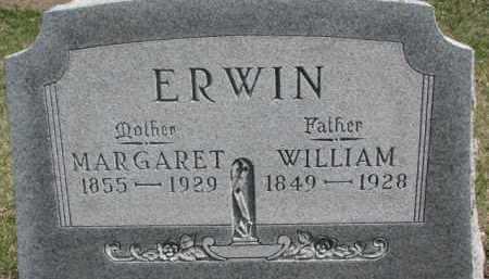 ERWIN, WILLIAM - Dixon County, Nebraska | WILLIAM ERWIN - Nebraska Gravestone Photos