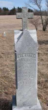 ESSER, EVA - Dixon County, Nebraska   EVA ESSER - Nebraska Gravestone Photos