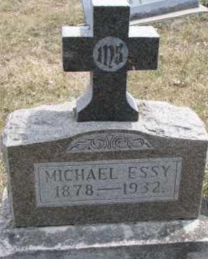 ESSY, MICHAEL - Dixon County, Nebraska   MICHAEL ESSY - Nebraska Gravestone Photos