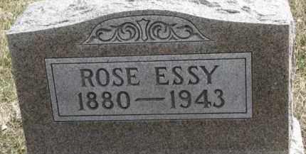 ESSY, ROSE - Dixon County, Nebraska   ROSE ESSY - Nebraska Gravestone Photos