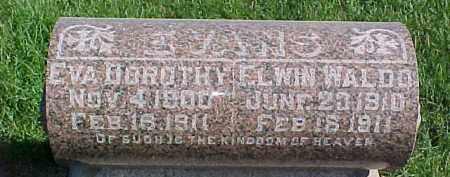 EVANS, EVA DOROTHY - Dixon County, Nebraska | EVA DOROTHY EVANS - Nebraska Gravestone Photos