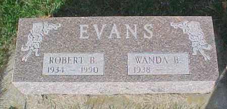 EVANS, ROBERT B. - Dixon County, Nebraska | ROBERT B. EVANS - Nebraska Gravestone Photos