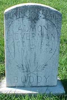 "EVERMAN, ALMON  ""BUDDY"" - Dixon County, Nebraska | ALMON  ""BUDDY"" EVERMAN - Nebraska Gravestone Photos"