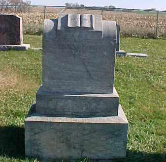 FABRIZ, JOHANN - Dixon County, Nebraska | JOHANN FABRIZ - Nebraska Gravestone Photos