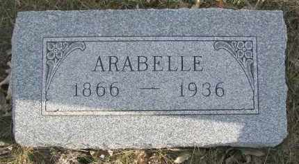 FEGLEY, ARABELLE - Dixon County, Nebraska | ARABELLE FEGLEY - Nebraska Gravestone Photos