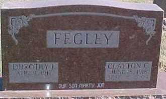 FEGLEY, DOROTHY IVA - Dixon County, Nebraska | DOROTHY IVA FEGLEY - Nebraska Gravestone Photos