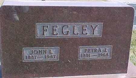 FEGLEY, PETRA J. - Dixon County, Nebraska | PETRA J. FEGLEY - Nebraska Gravestone Photos