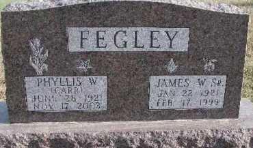 FEGLEY, PHYLLIS W. - Dixon County, Nebraska   PHYLLIS W. FEGLEY - Nebraska Gravestone Photos
