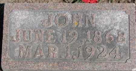 FELLER, JOHN - Dixon County, Nebraska | JOHN FELLER - Nebraska Gravestone Photos