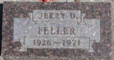 FELLER, JERRY D. - Dixon County, Nebraska   JERRY D. FELLER - Nebraska Gravestone Photos