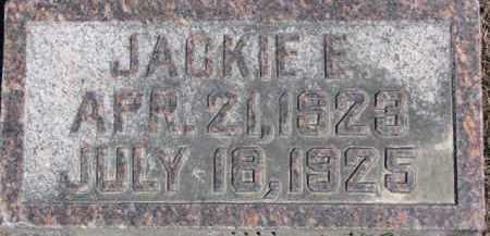 FELLER, JACKIE E. - Dixon County, Nebraska | JACKIE E. FELLER - Nebraska Gravestone Photos