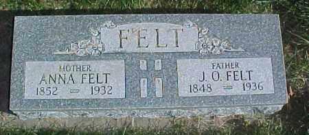 FELT, JENS O. - Dixon County, Nebraska | JENS O. FELT - Nebraska Gravestone Photos