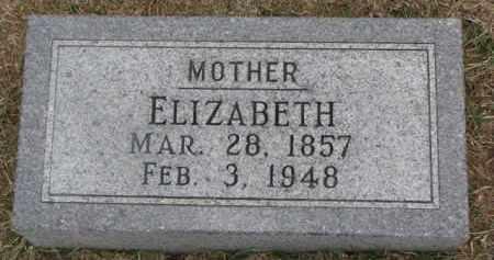 FEY, ELIZABETH - Dixon County, Nebraska | ELIZABETH FEY - Nebraska Gravestone Photos