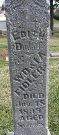 FIDLER, EDITH - Dixon County, Nebraska   EDITH FIDLER - Nebraska Gravestone Photos