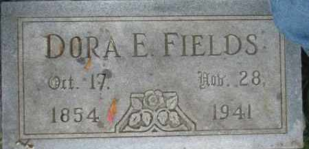 FIELDS, DORA E. - Dixon County, Nebraska | DORA E. FIELDS - Nebraska Gravestone Photos